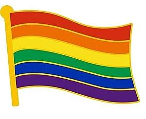 Gay Pride Awareness Lapel Pin