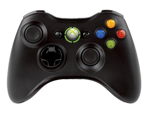 Wireless Controller - Black (Xbox 360)