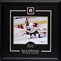 Rick Dipietro 8X10 Etched Signature - Memorabilia