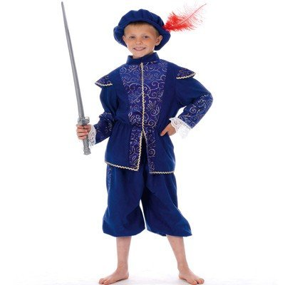 Tudor boy boys Childrens fancy dress costume Age 5-6 Medium Childs by Rubies