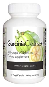 Garcinia Cleanse All Natural Diet Pill For Maximum Fat Burning Pure Garcinia Cambogia With Hca Non Stimulant Appetite Suppressant For Optimal Weight Loss One Bottle- 60 Capsules- One Month Supply from Healthy start +