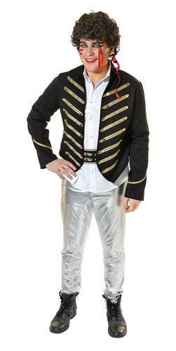 Adam Ant Deluxe 3pc Male Fancy Dress