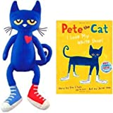 "Pete the Cat hardcover book & 14.5"" doll set"