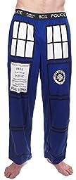 Doctor Who TARDIS Royal Blue Lounge Pants (Adult Large)