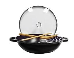 Staub Perfect Pan, Black Matte, 12\