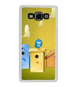 Bird House 2D Hard Polycarbonate Designer Back Case Cover for Samsung Galaxy A8 (2015 Old Model) :: Samsung Galaxy A8 Duos :: Samsung Galaxy A8 A800F A800Y