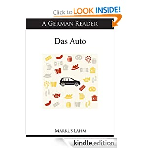 Logo for A German Reader: Das Auto