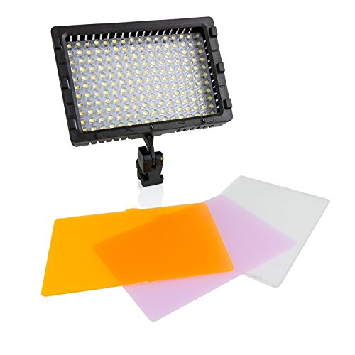 Opteka Vl-176 Ultra High Power 176 Led Video Light For Canon Eos Rebel T5I T4I Sl1 T5 1100D 1000D T3 T3I 60D 600D 650D 7D 350D Xs I Xt Xti Xs T2I, T1I, 50D, 40D, 30D, 20D, 6D, 5D, 1D, Kiss X5, Kiss X4, Kiss X6I, Kiss X7I & 550D Digital Slr Cameras