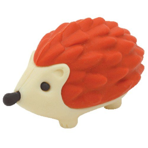 Ty Beanie Eraserz - Prickles the Hedgehog Red - 1