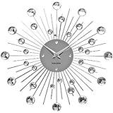 Karlsson Wall Clock Sunburst Crystal