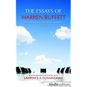 The Essays of Warren Buffett - Carolina Academic Press