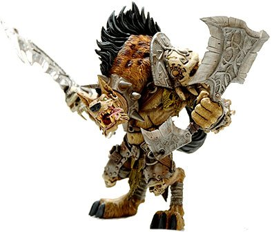 World of Warcraft Premium Series 1 Action Figure Gnoll Warlord: Gangris Riverpaw