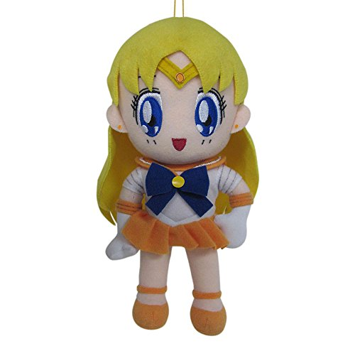 "Great Eastern GE-7509 Sailor Moon 8"" Plush Doll, Sailor Venus - 1"