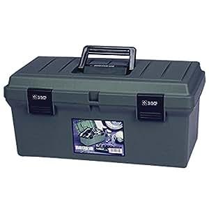 アイリスオーヤマ 工具箱 ハードケース 500 グレー【幅約47×奥行約24×高さ約23cm】