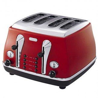 De'Longhi Icona CTO3003 Toaster, 4 Slice by Delonghi
