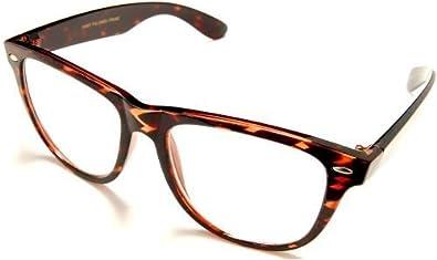clear retro fashion attitude eyewear