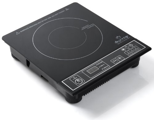 DUXTOP 1800-Watt Portable Induction Cooktop Countertop Burner (Silver)