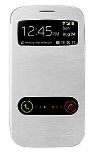 Swees® Etui Housse S View Flip Cover avec fenêtre + Protection d'écran et STYLET pour Samsung Galaxy S3 i9300 - Blanc