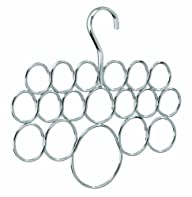 InterDesign Axis Scarf Hanger, No Sna…