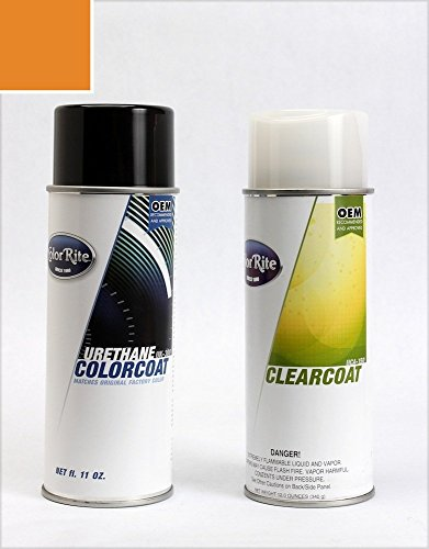 Colorrite Aerosol Plymouth All Automotive Touch-Up Paint - Vitamin C Irid. K-2 (1970) - All-Inclusive Package