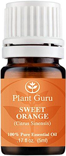 Sweet Orange Essential Oil. 5 ml. 100% Pure, Undiluted, Therapeutic Grade. Sample Size