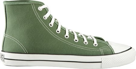 Ethletic Classic High-Top Sneakers,Olive Green,EU 42 M