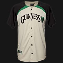 GUINNESS AUTHENTIC BASEBALL JERSEY