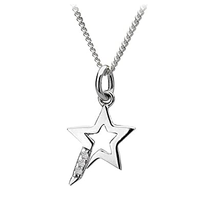 Hot Diamonds Star Micro Pendant of 41cm + 5cm extender