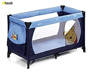 hauck 603338 reisebett dream n play plus pooh family blue baby. Black Bedroom Furniture Sets. Home Design Ideas