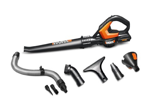 WORX WG545.1 WORXAIR Lithium Multi-Purpose Blower/Sweeper/Cleaner, 20-volt, Battery and Charger Included (Cordless Compact Blower compare prices)