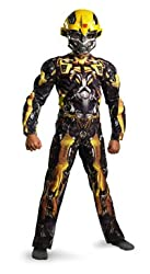 Boys Transformers Movie Bumblebee Costume Size Small