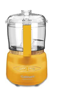Cuisinart DLC-2ADY Mini-Prep Plus Food Processor, Dark Yellow
