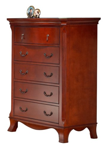 Sorelle Sherri 5-Drawer Chest - Autumn