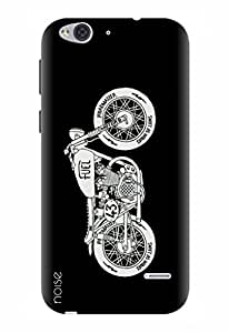 Noise Designer Printed Case / Cover for Lyf Water 2 / Automobiles / Bike Design