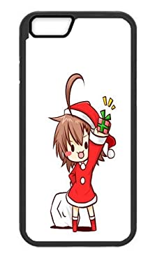 buy Phone Case Custom Iphone 6 Plus 5.5Inch Tpu Phone Case Chibi Last Order Santa Gifts Cute Anime Black Soft Cover Case For Apple Iphone 6 Plus 5.5Inch