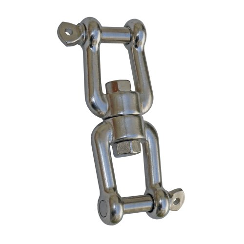 "Marine Jaw/jaw Swivel 5/16"" Anchor Chain Connector for Boat .Stainless Steel. Five Oceans"