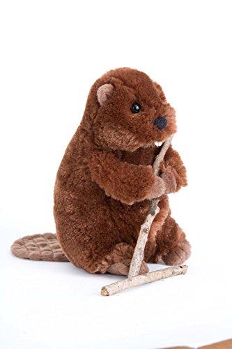 Buddy Beaver Plush Animal 7 Inches