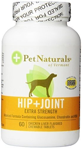 Pet Naturals of Vermont Hip and Joint Extra Strength