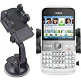 Horiya Accessories Mobilizers: In Car Windscreen Suction Mount Holder Kit For Nokia E5-00