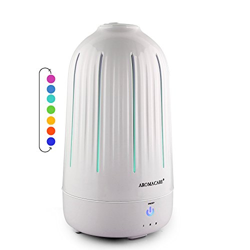 Essential Oil/Essence Diffuser for Aromatherapy Ultrasonic Cool Mist Aroma Humidifier /BPA Free Aromatherapy Diffuser with Multi-Color Light for Home Office Baby Room-1.8L Up to 24-hour use (Waterfall Humidifier compare prices)