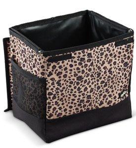 2 Gallon Automobile Floor Litterbag - Leopard