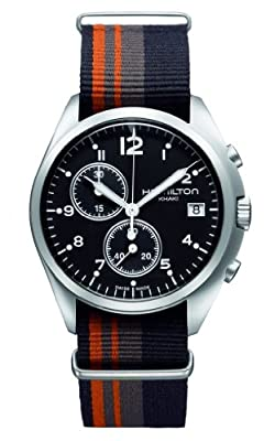 Hamilton Khaki Pioneer Pilot Black Dial Men Watch H76552933 from Hamilton