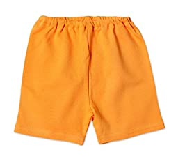 Zutano Primary Solid Shorts ~ Orange SIZE 0 - 6 mo