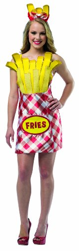 Rasta Imposta Women's Foodies French Fries Dress, Multi, One Size (French Fries Toy compare prices)