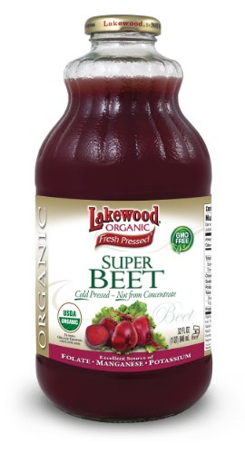 Lakewood Organic Super Beet Juice, 32 Ounce (Pack Of 6)