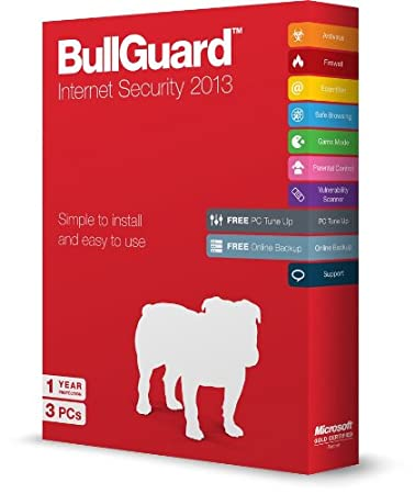 Bullguard Internet Security V13 Retail Boxed - 3 PCs