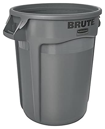 Rubbermaid Commercial Brute LLDPE Round Container