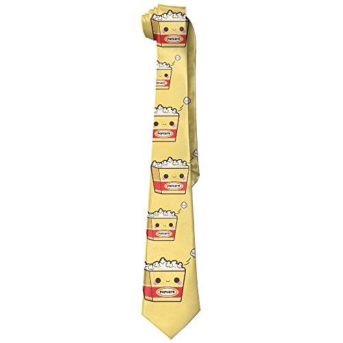 NANA Men's Cartoon Popcorn Fashion Skinny Tie (Hobbit Popcorn compare prices)