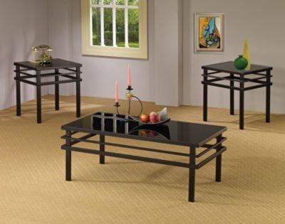 Wildon Home Bingham 3 Piece Coffee Table Set