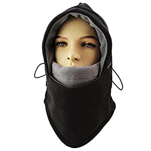 Double Layers Thicken Warm Full Face Cover Winter Ski Mask Beanie from asc